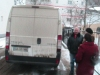 Bilen fra Holstebro ankommer til Botosani