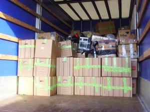 40 papkasser til vores projekt i Jajce