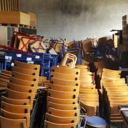 Skolemøbler til Velika Kladusa